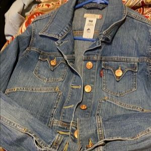 Levis Blue Jean Jacket